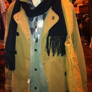 NWT Scotch and Soda Trench Coat with liner Size S